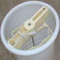Extracteur en plastique cadres Langstroth/Dadant