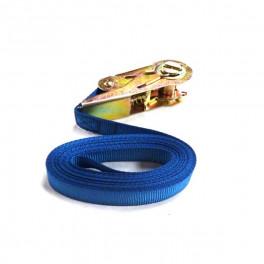 Sangle bleue à cliquet 25mmX5m-ruche Dadant/langstrothadant-Langstroth