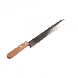 Couteau lame courbe inox à dent à désoperculer